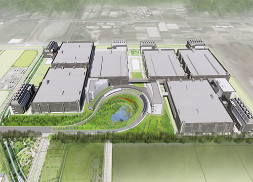 TSMC Fab 18 (rendering above) is the 5nm production facility.