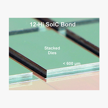 Low Temperature SoIC Bonding and Stacking Technology for 12/16-Hi High Bandwidth Memory (HBM)